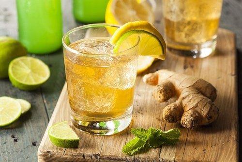 Zitrone und Ingwer gegen Migräne