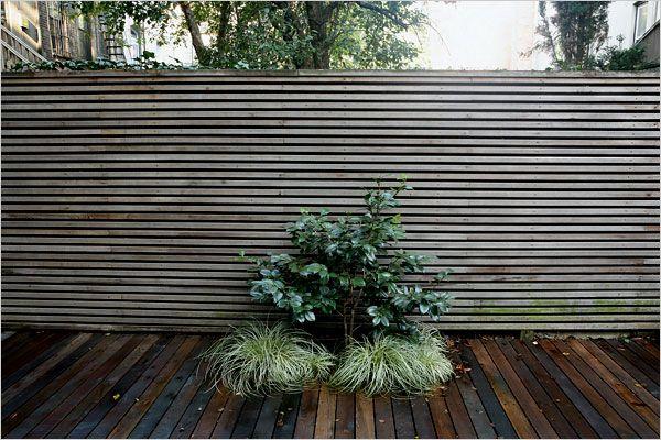 Rethinking A Brownstones Backyard The New York Times Home Garden