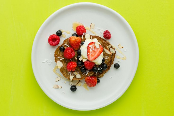 You won't believe these pancakes don't contain flour. Light and fluffy, this simple breakfast idea will satisfy your morning cravings…