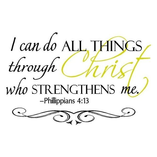 I Can Do All Things Through Christ Wallpaper: 62 Best Images About Quotes That Move Me On Pinterest