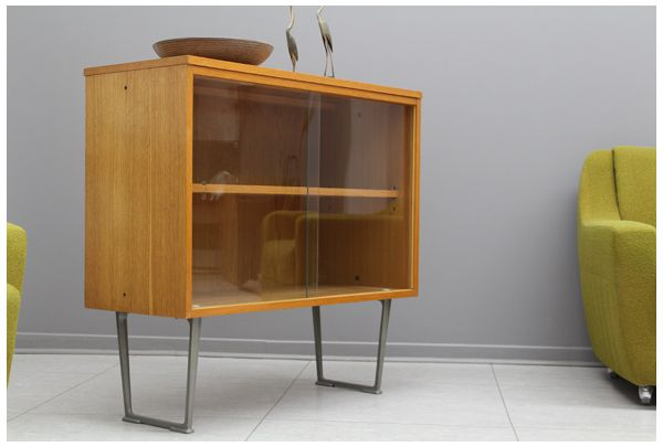 rare vintage sideboard vitrine kommode mid century modern wegner panton re modern mid. Black Bedroom Furniture Sets. Home Design Ideas