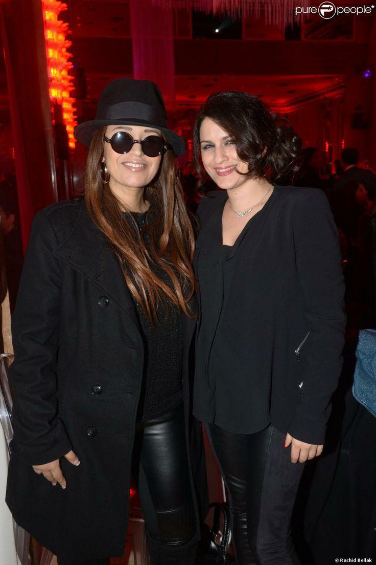 Lââm et Larusso lors du gala de l'association Les Rois du Monde aux Salons Hoche à Paris le 3 février 2014