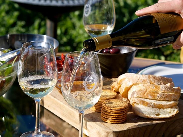 Cellar Selection Sav alongside Vineyard Café platter. A perfect Friday afternoon!