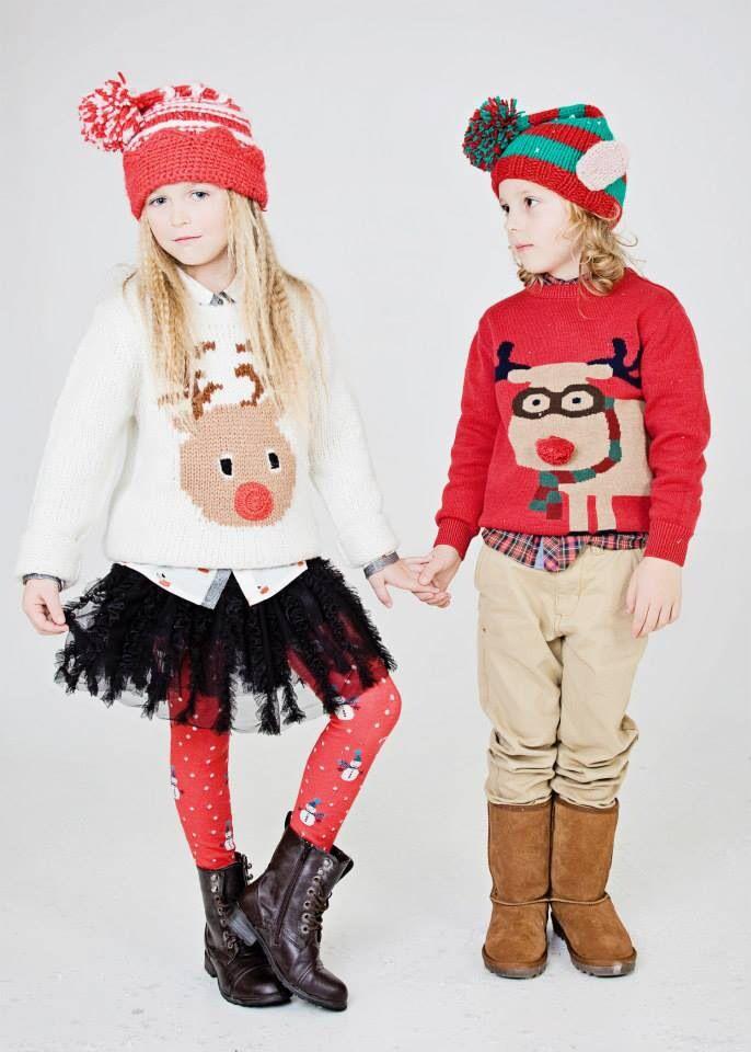 Bella and Theo Christmas 2013