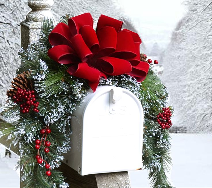 25+ unique Christmas mailbox decorations ideas on Pinterest - christmas floral decorationswhere to buy christmas decorations