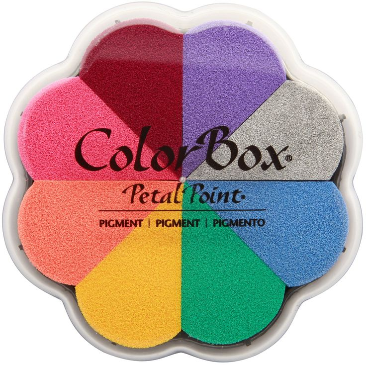 Colorbox Pigment Petal Point Option Pad 8 couleurs-enchantement
