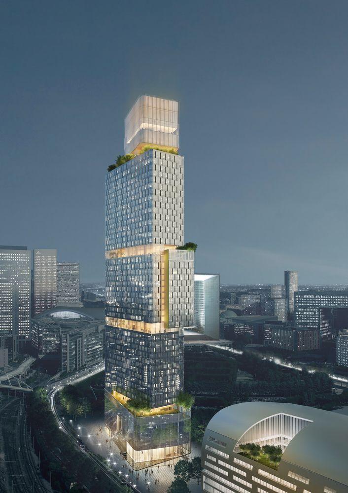 Gallery of Ateliers 2/3/4/ Unveils Paris Garden Tower - 1