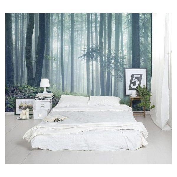 Zimmer Einrichten, Gemütliches Wohnen, Hotelzimmer, Schlafzimmer,  Wandgestaltung, Tapeten, Wald Schlafzimmer, Wald Wallpaper, Feature Wand  Schlafzimmer