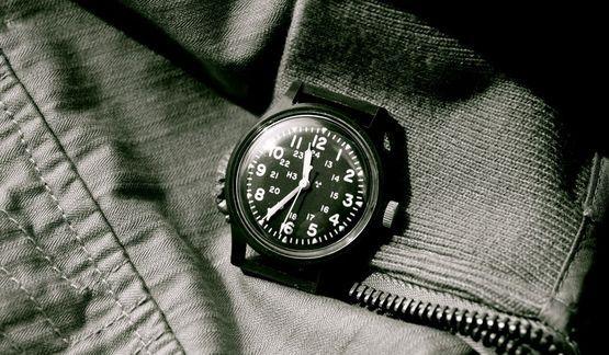 Timex military 1982