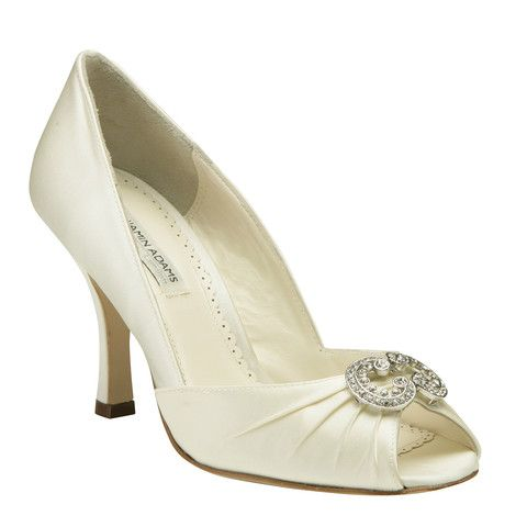 #weddingshoes #trousseaubridalshoes #bridalshoes elegant Winslet is ready to dress up any gown.  Check out www.trousseaubridalshoes.co.nz - worldwide shipping is available on our shoes, please contact us