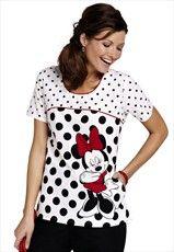 Disney Nursing Scrubs Minnie Mouse
