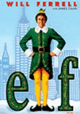 Elf (DVD) / Once apon a christmas eve, an orphan baby crawled into Santa's bag of gifts and was taken to the North Pole. Raised by Papa Elf, Buddy comes to realize he doesn't fit in with the other elves. Determined to find a place where he belongs, Buddy searches for his real dad - in New York City.