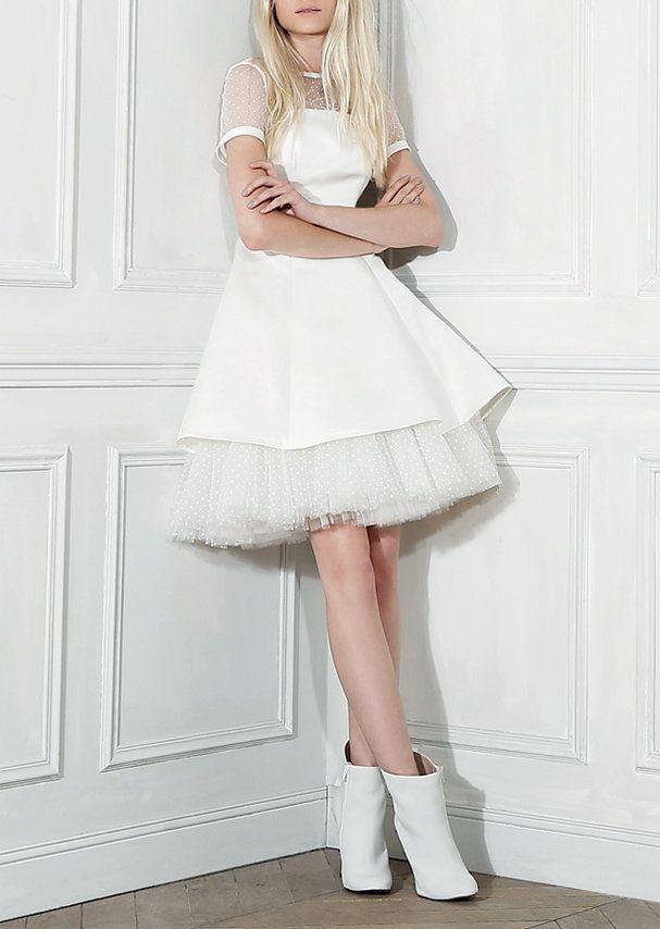 robe de mariee courte Love de William Carnimolla pour Tati