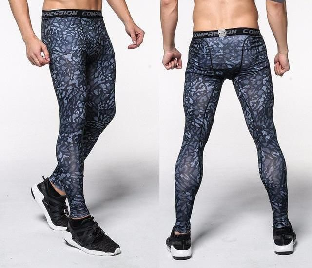 Mens Compression Pants Crossfit Tights Men Bodybuilding Pants