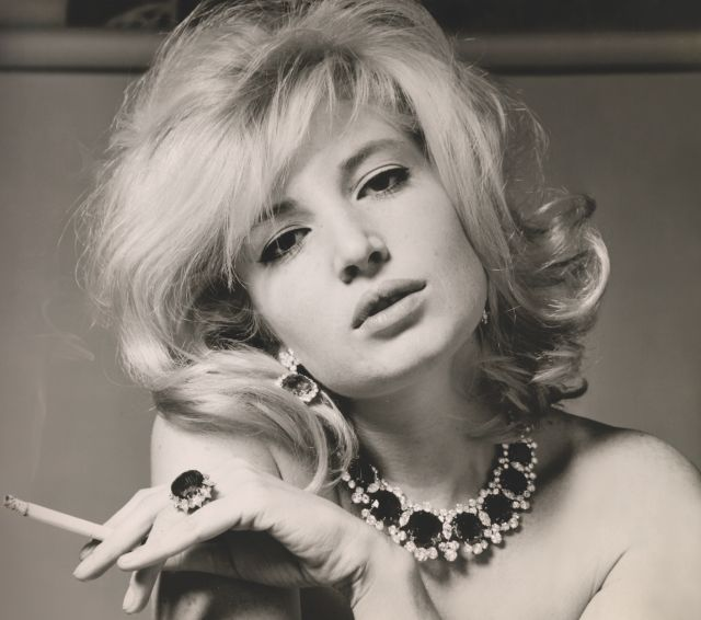 """""""Vitti was most famous for her role in L'Avventura, a murder mystery directed by her lover Michelangelo Antonioni. In fact, she starred in many of his films, acting as his muse until the late '60s, when their working relationship became strained and their marriage ended."""" // Monica Vitti"""