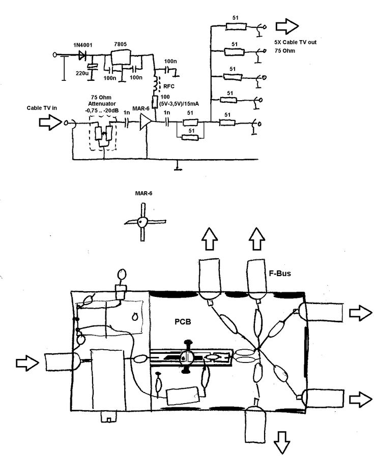 20 Stunning Tv Distribution Wiring Diagram Ideas (With