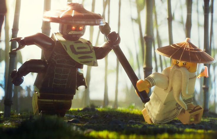 LEGO Ninjago exclusive: How a LEGO Rumble in the Bronx got Jackie Chan to choreograph the movie's cartoon fights