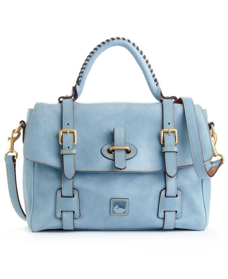 Dooney & Bourke Handbag, Florentine Flap Tab Satchel - Satchels - Handbags & Accessories - Macy's