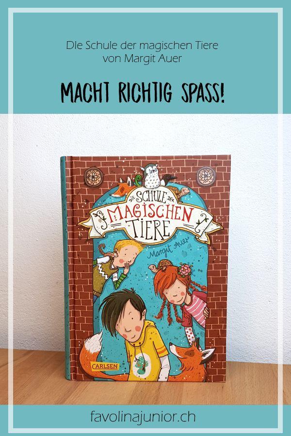 """""""Die Schule der magischen Tiere"""" von Margit Auer #kinderbuch #carlsenverlag #books #bookstagram"""