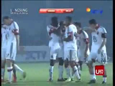 Cuplikan Gol Arema VS DC United ( 2 - 1 ) Friendly Match - 8 Desember 2013