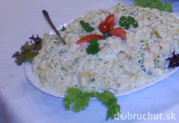 Veľkonočný čerstvý majonézový šalát