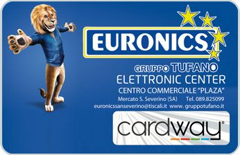 Euronics, Mercato San Severino (SA) - Attività Convenzionata CARDWAY.