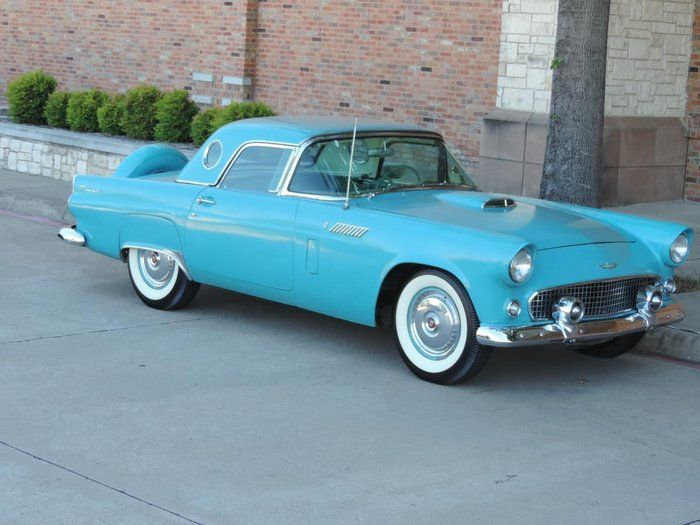 Classic 1956 Ford Thunderbird For Sale 1947158 49 500 Dallas