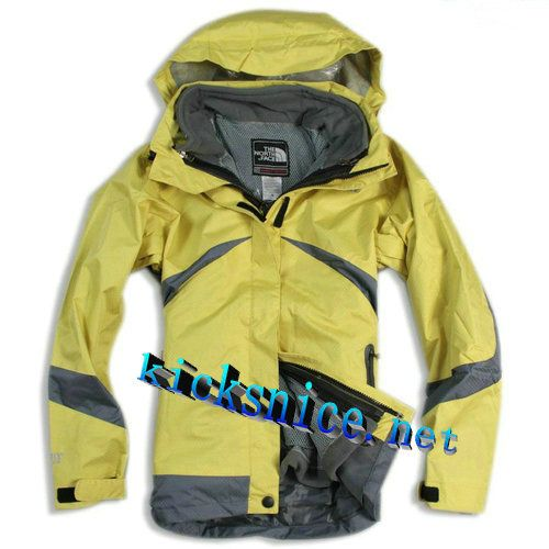 $119.9 Womens #The #North #Face Condor Trclimate Jacket Lemon Yellow Dark  Grey #