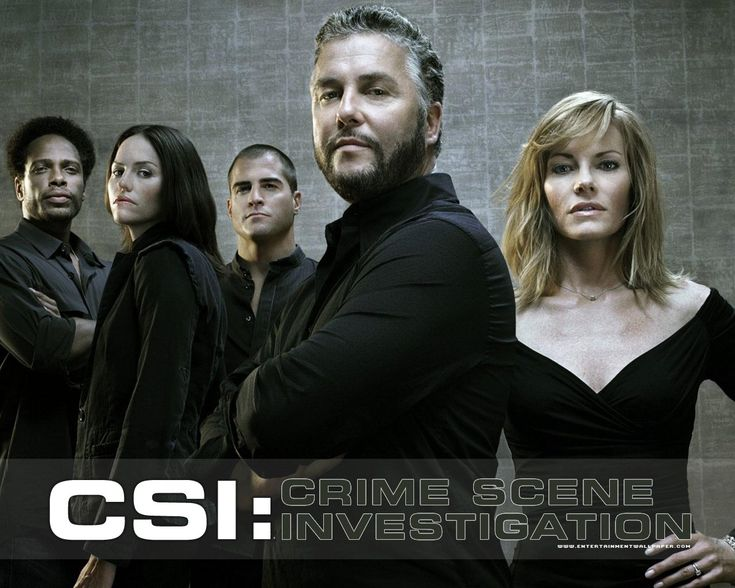 CSI - this cast was the best !