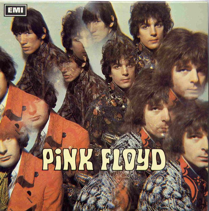 Evolution of Pink Floyd Album Covers, 1967 The Pipers at The Gates of Dawn - Retronaut