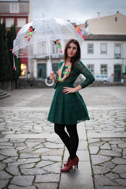 J`adore le collier and parapluie