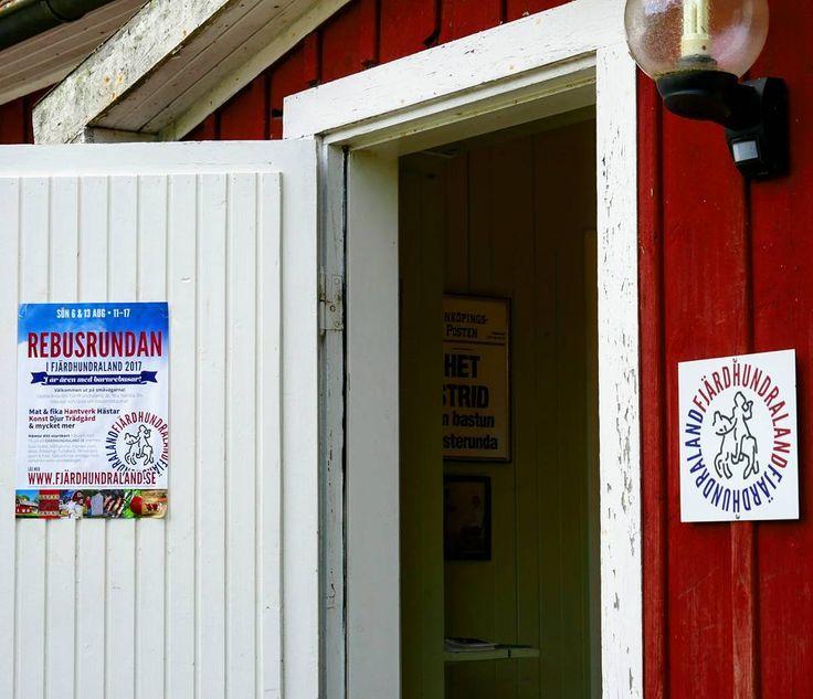 Idag är dörren öppen till vår lilla tebutik. #rebusrundan #fjärdhundraland  #ekologisktte