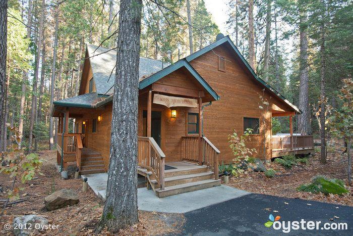 The John Muir House at the Evergreen Lodge at Yosemite