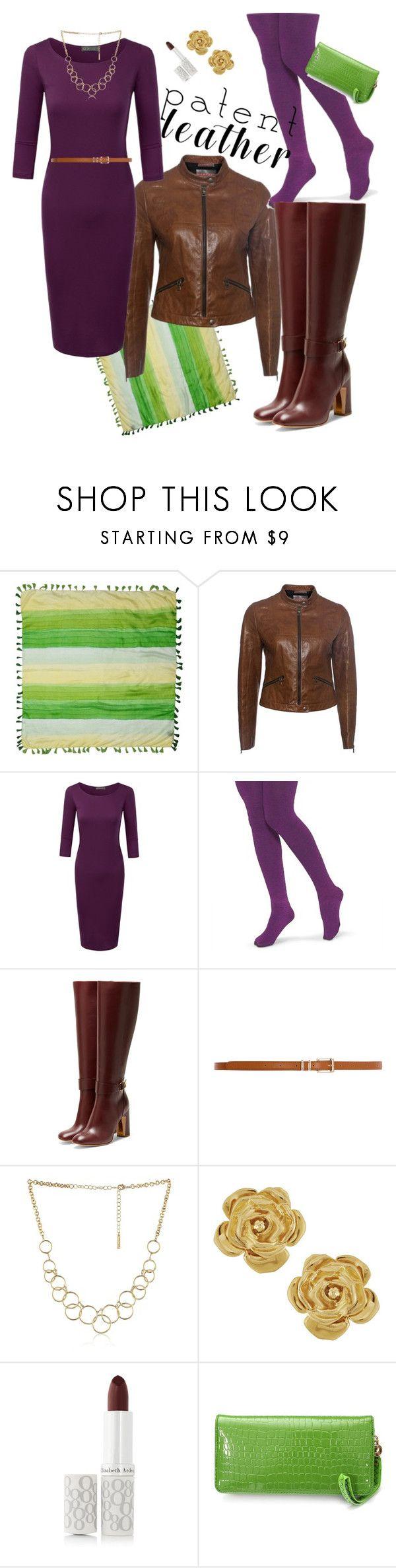 """Almost Spring"" by wardrobepieces on Polyvore featuring Roberto Cavalli, Prada, Xhilaration, Rupert Sanderson, Dorothy Perkins, Nine West, Vintage and Elizabeth Arden"