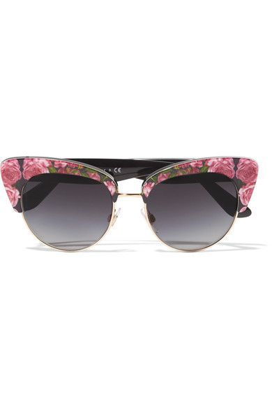 Dolce   Gabbana, Cat-Eye Floral-Print Acetate Sunglasses   Made in Italy  http   feedproxy.google.com fashiongoSungalsses1 c28134b921ad