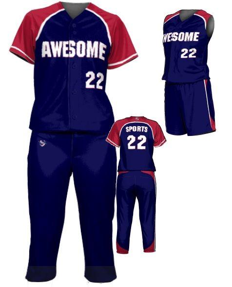 Teamwork Custom  Softball Uniforms (Mercy Rule)