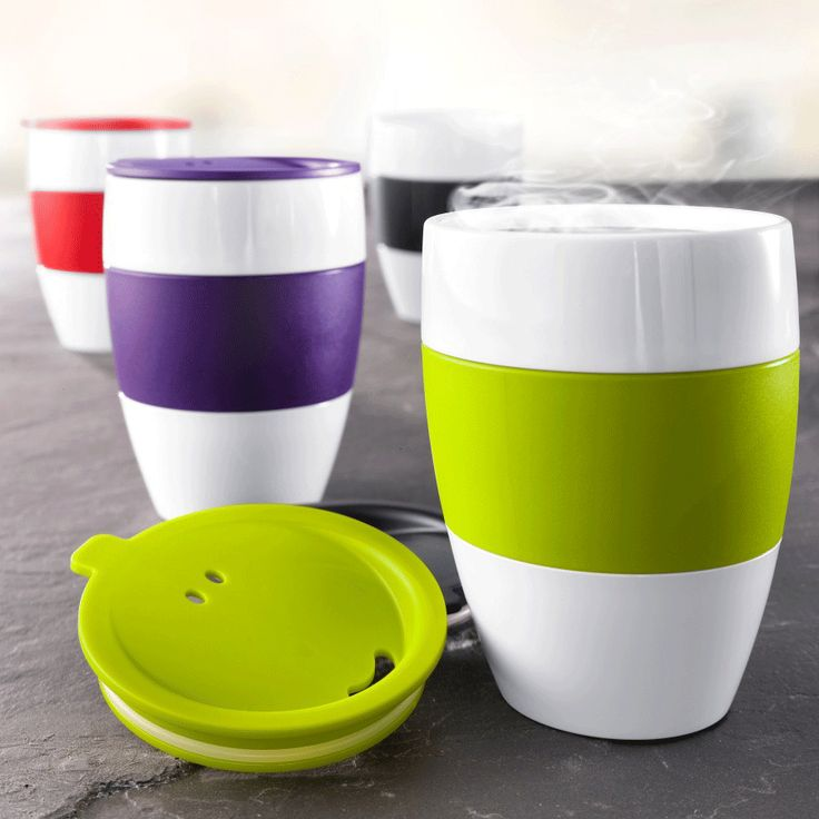 Koziol AROMA TO GO Cup With Lid