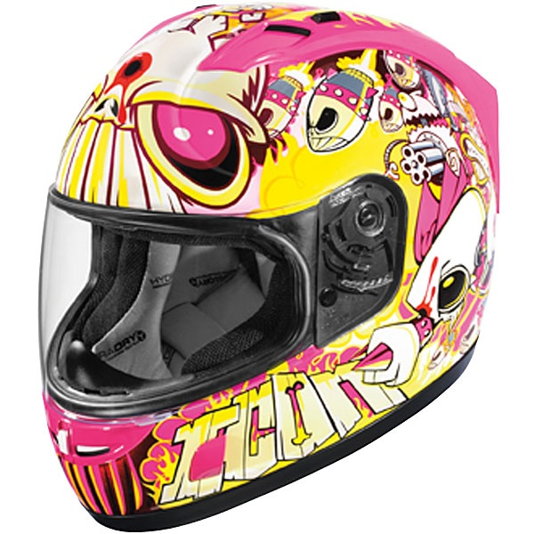 Icon Women's Alliance SSR Rockets Dead Glare Helmet Cool