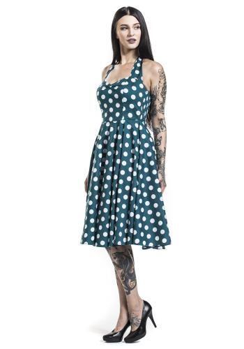 """Abito di media lunghezza """"Mariam 50's Dress"""" del brand #HellBunny."""