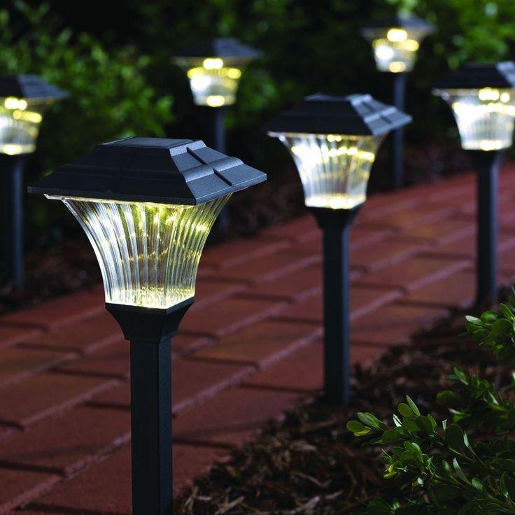Outdoor solar lights 30 pinterest best outdoor solar path lights mozeypictures Images
