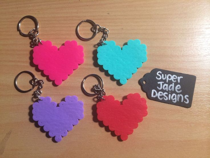 Heart - Key Chain via SuperJade Designs. Click on the image to see more!