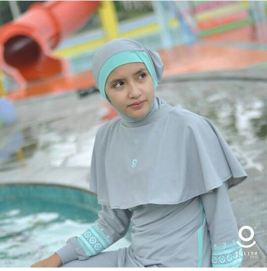 Burkini. Modest swimwear