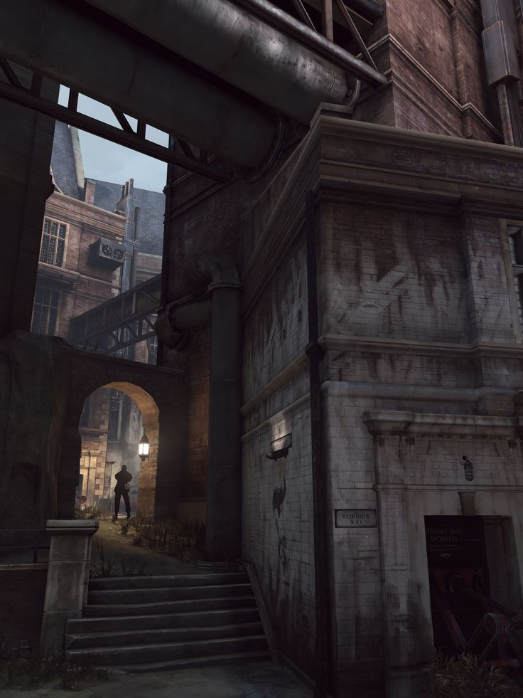 """Dishonored (Arkane Studios, 2012)""""This Way And That""""Custom 3:4 and 2:1 aspect ratios @ ~6K ..."""