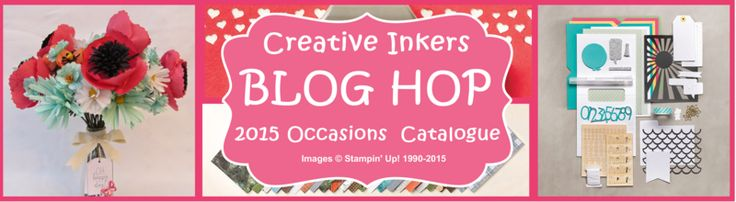 Stamping Craft: Creative Inkers Occasions Mini 2015 Blog Hop