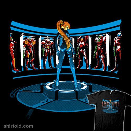 Iron Aran #SamusAran #Metroid #IronMan   Shirts ...