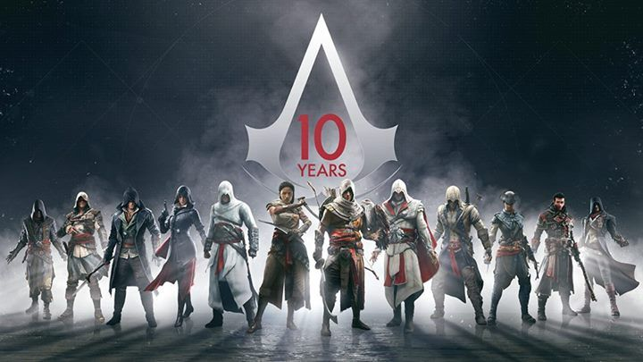 Time sure does fly. Sound off your favorite Assassin's Creed ⚔️ game! #assassinscreed #assassins #assassin #ac #assassinscreeed2 #assassinscreedbrotherhood #assassinscreedrevelations #assassinscreed3 #assassinscreedblackflag #assassinscreedrogue #assassinscreedunity #assassinscreedsyndicate #altairibnlaahad #ezioauditore #connorkenway #edwardkenway #arnodorian #jacobfrye #eviefrye #GeekVerse