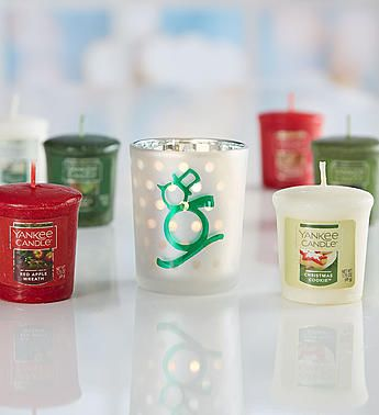Yankee candle holiday gift sampler christmas for Scheper custom homes