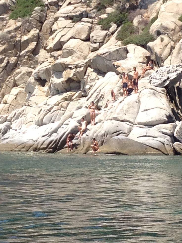 Summer time #summer #ammouliani #beach #sea