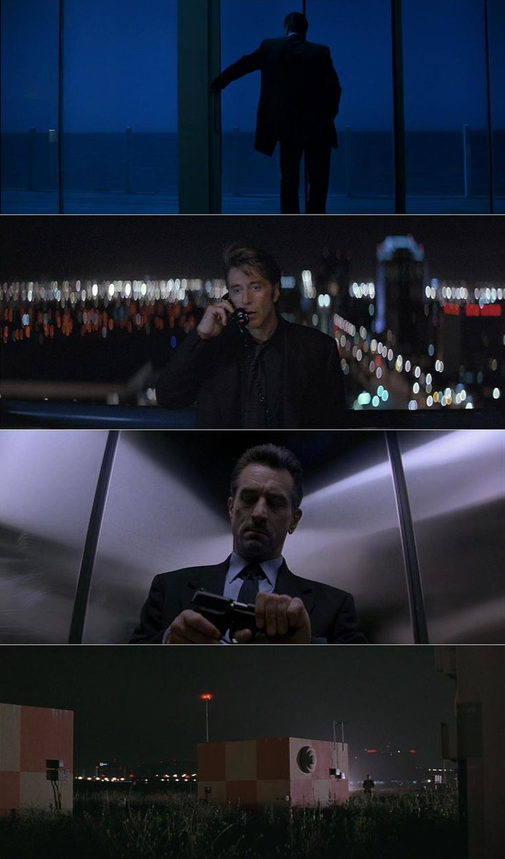 Heat (1995) | Cinematography by Dante Spinotti | Directed by Michael Mann