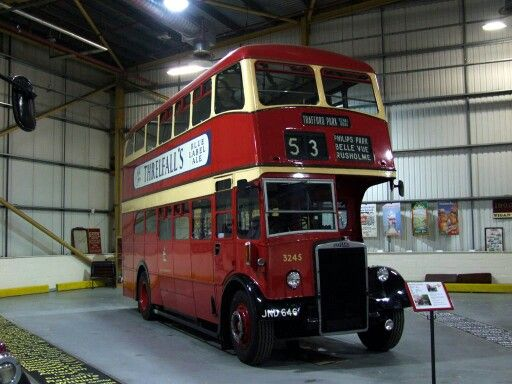 Manchester No. 53 to Belle Vue.